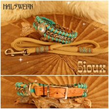 Tauhalsband Paracord Indian Western