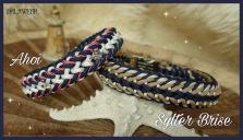Halsband Windhund XL breit geflochten