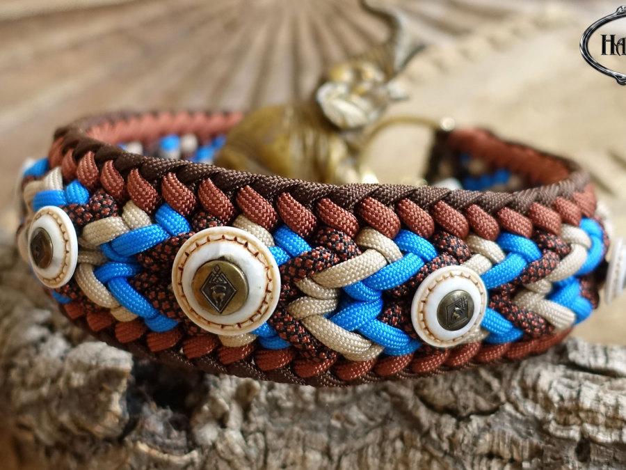 Halsband gefochten Afrika Ridgeback Dogge