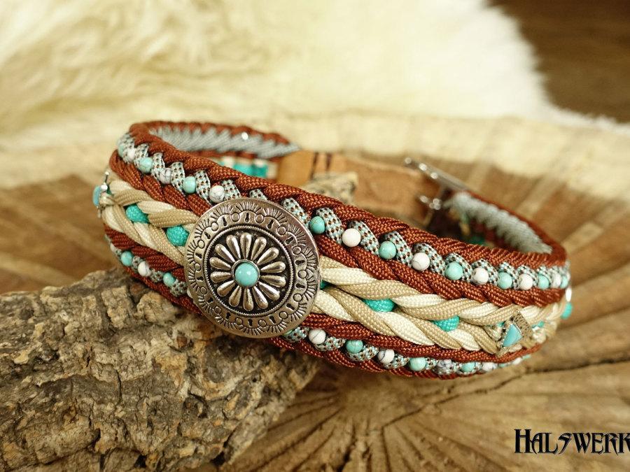 Indianer Halsband geflochten Ridgeback