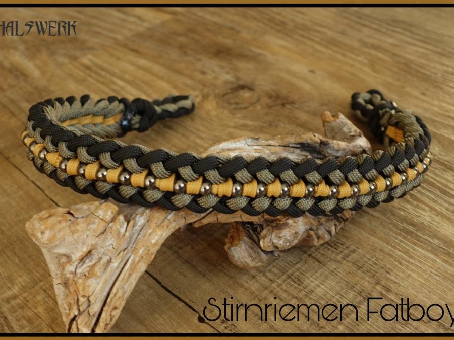 Halsband indianer geflochten Zugstopp