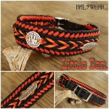 Halsband indianisch geflochten
