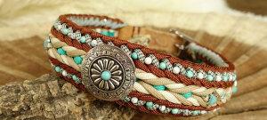 Paracord-Halsband-Afrika Indianisch